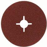 BOSCH 2608607250-Fiberschuurschijf voor haakse slijpmachine, korund 125 mm, 22 mm, 36-klium