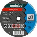 METABO 616452000-METABO NOVOFLEX 230X3,0X22,23 STAAL, DOORSLIJPSCHIJF, RECHTE UITVOERING-klium