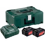 METABO 685064000-METABO BASIS-SET 2 X 4.0 AH + METALOC-klium