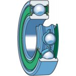 SKF 6201-2RSH/C4-GROEFKOGELLAGER  6201-2RSH/C4-klium