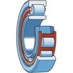 SKF NU 334 ECM/C3-CILINDERLAGER NU 334 ECM/C3-klium