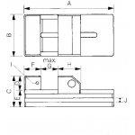 MITUTOYO 930-632-Precisie spanklem 930-632-klium
