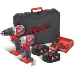 MILWAUKEE 4933464718-MILWAUKEE M18 CBLPP2B-502C compacte koolborstelloze powerpack-klium