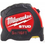 Milwaukee 48229917-MILWAUKEE STUD 5 m - 16 ft / 27 mm Rolmaat-klium