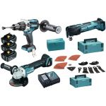 MAKITA DLX3094TJ1-MAKITA dlx3094tj1 battery combopack lxt 18v (3x 5ah in cases)-klium