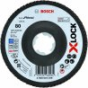 BOSCH 2608619199-BOSCH X-LOCK lamellenschijf Best For Metal schuin, glasvezel, ø115mm, K 80, x571-klium