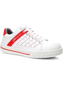ELTEN 972220-35-ELTEN 972220 NORRIS ESD O1 OCCUPATIONAL SHOE LOW (WHITE-RED)-klium