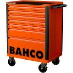 BAHCO 1472K7-BAHCO 1472K7 gereedschapswagen met 7 lades oranje-klium