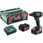 METABO 602395650-METABO SSW 18 LTX 300 BL cordless impact screwdriver 18V 2x5.2Ah Li-ion (in case)-klium