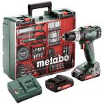METABO 602321870-METABO bs 18 l set battery drilling machine-klium