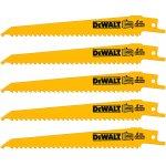 DEWALT DT2359-QZ-DEWALT DT2359-QZ Reciprozaagblad BiM 152x3,6-5,1mm voor hout met spijkers en kunstof tot 110mm-klium