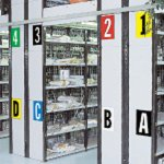 BRADY 911380-Cijfers & letters DIN A4-formaat voor permanente of tijdelijke identificatie-klium