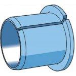 SKF PCMF 151717 E-Ptfe composiet glijbus met flens-klium