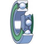 SKF W 619/8-2RS1-Afgedichte roestvrijstalen groefkogellager-klium