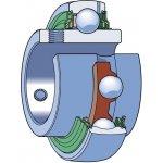 SKF YAR 210-2RFGR/HV-Y-lager RVS-klium