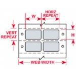 BRADY 027282-DaTab Dot Matrix Beprintbare Labels-klium
