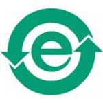 BRADY 806663-Chinees RoHS Label - E-symbol-klium