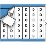 BRADY 053983-Draadmerkerletters op kaart-klium