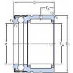 SKF NX 30-NAALDTAATSLAGER-klium