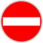 BRADY 286688-Mini-pictogrammen - solovellen - verboden toegang (PIC 229)-klium