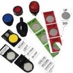 BRADY 802280-Labels als vervanging van gegraveerde plaatjes voor gebruik op TLS2200 & TLSPC LINK-klium