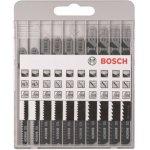 BOSCH 2607010629-10-delige decoupeerzaagbladenset Wood Basic T 119 BOT 119 BT 111 C-klium