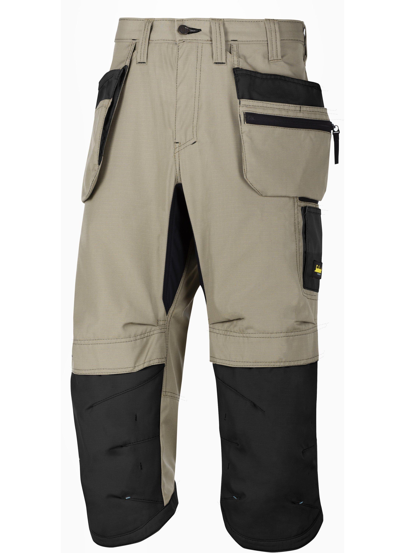 6103 Snickers Black LiteWork 37.5®Work Pirate Trousers Holster Pocket FREE SOCKS